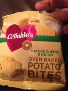 doven baked potatoe bites