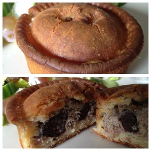 GF Chicken and Black Pudding Pie by The Foodamentalists.