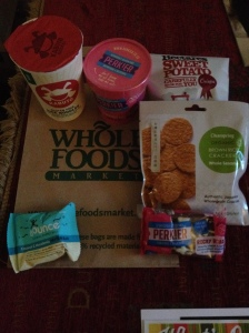 Goodie Bag from Wholefoods (Nutritionist Discussion)