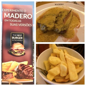 GF Steak and Chips (Madero in Brasilia).