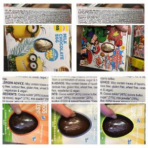 A Selection of Chocolate Easter Eggs by Bon Bon Buddies