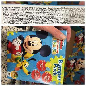 Mickey Mouse Egg by Bon Bon Buddies