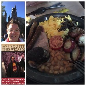 GF Breakfast at the Three Broomsticks Universal Studio Florida