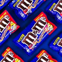 NEW GLUTEN FREE M&M'S CARAMEL flavour launching in May 2017....